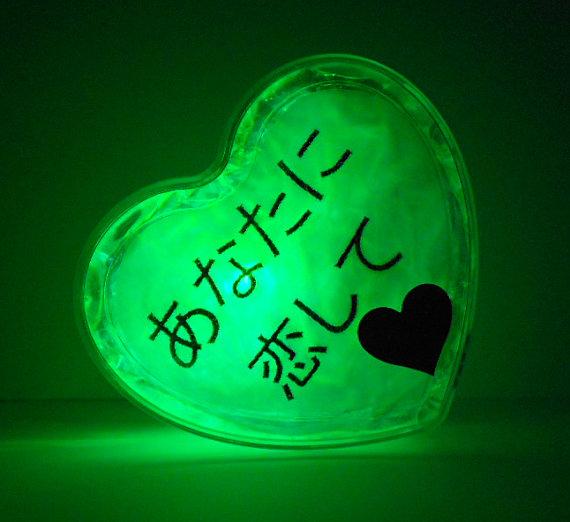 GlowHeart -gifts for men, women, teens, japanese theme2